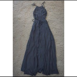 Aakaa Dresses - Salsa Small Gray Formals Dress